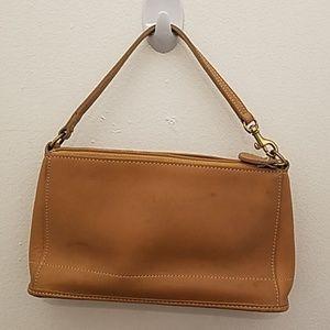Vintage Coach Leather Mini Bag/Wristlet